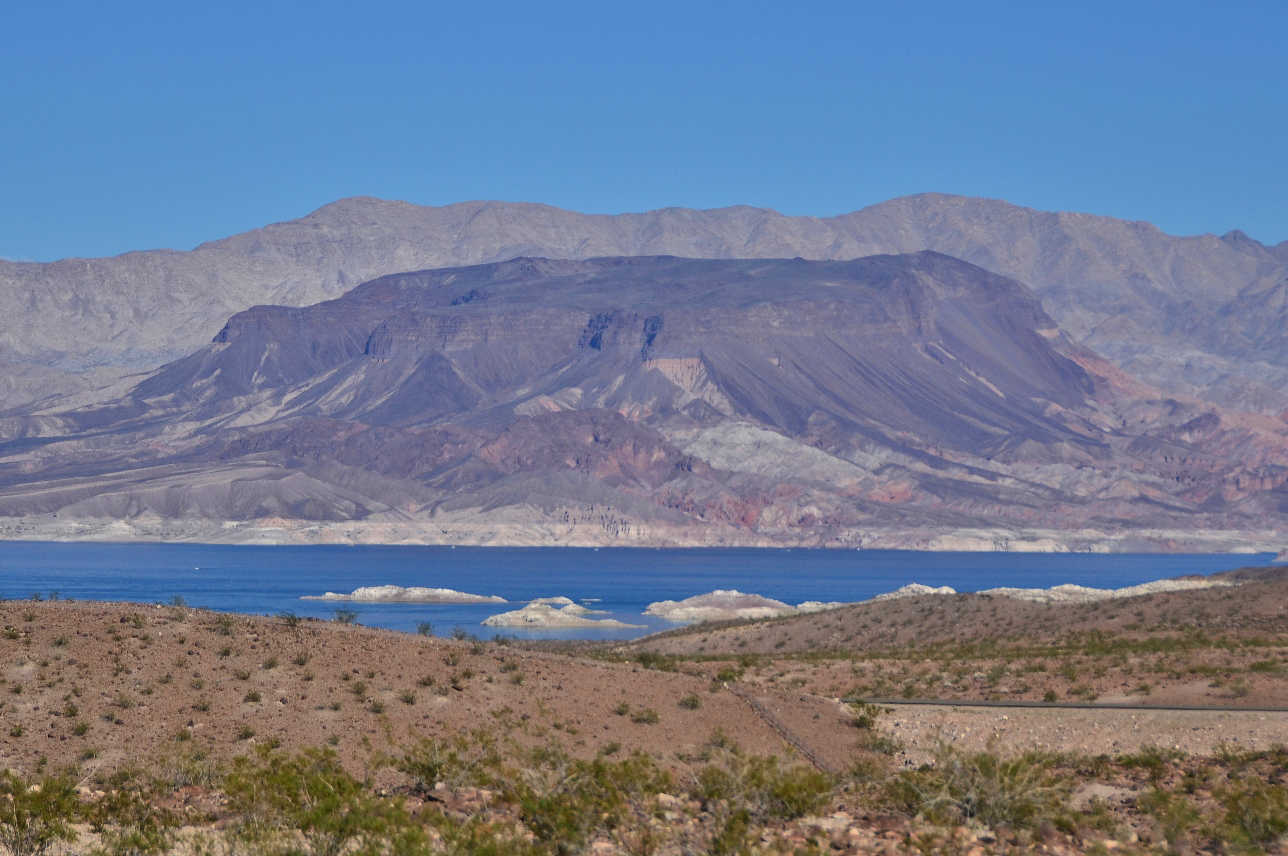 When going from Las Vegas to the Valley of Fire, avoid the faster Interstate, and take the sceninc North Shore Road along Lake Mead