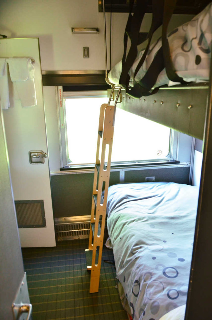 Crossing canada by train via rail canadian travel intense Via rail canada cabin for 2