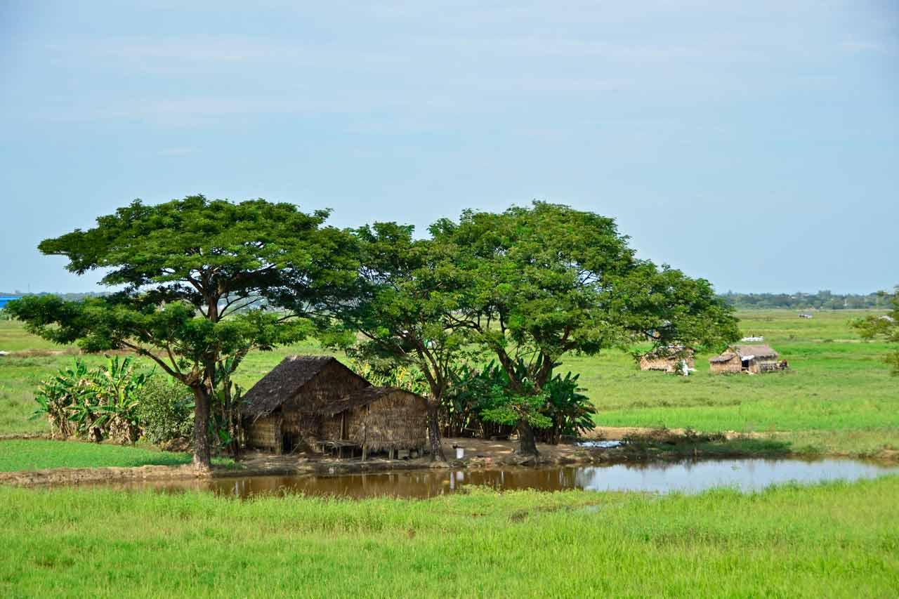 Yangon Circle Line countryside